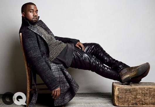Coat, $3,100 by Bottega Veneta Sweater, $775 by Calvin Klein Collection Sweatshirt, $165 by Levi's Vintage Clothing Pants, $1,399 by En Noir Boots, $770 by Bottega Veneta